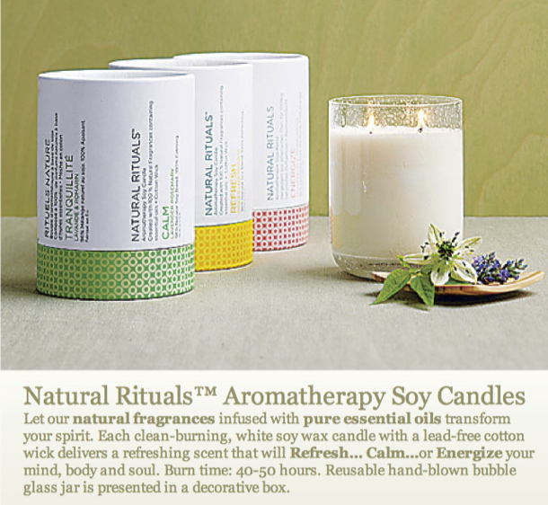 Natural Rituals Soy Candles by PartyLite